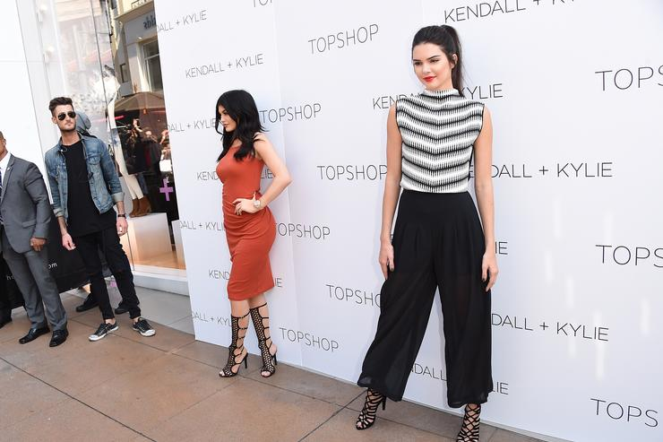 Kendall Jenner And Kylie Jenner Launch Party For Kendall + Kylie Fashion Line At Topshop