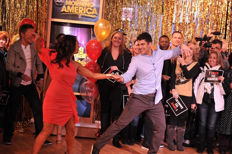 Rob Kardashian Cast Of 'Dancing With The Stars' Visits ABC's 'Good Morning America'