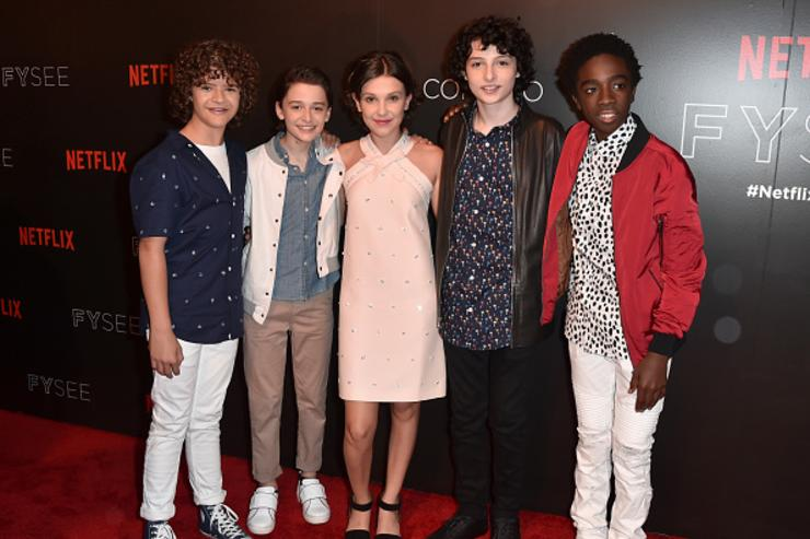 Stranger Things cast at the For Your Consideration event