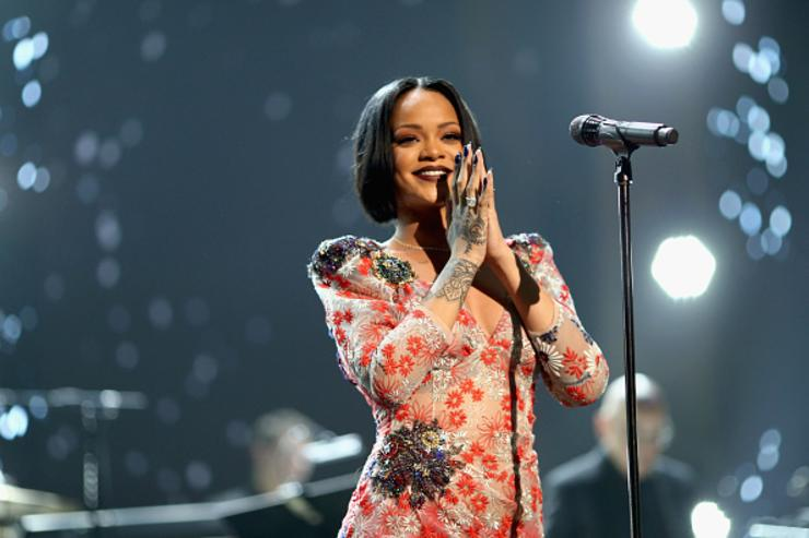 Rihanna performs onstage during the 2016 MusiCares Person of the Year