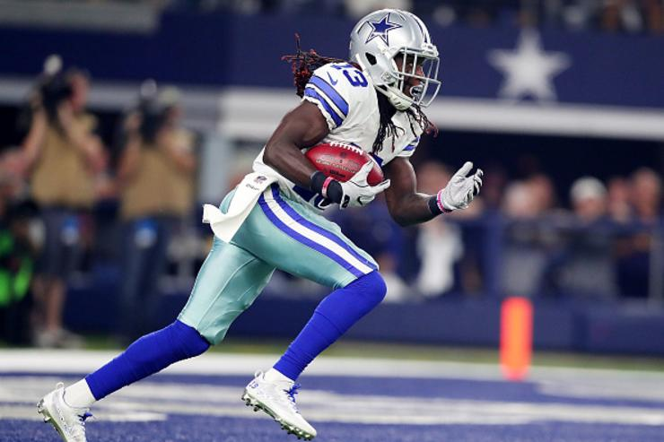 Some sick creep is holding Cowboys WR Lucky Whitehead's dog for ransom