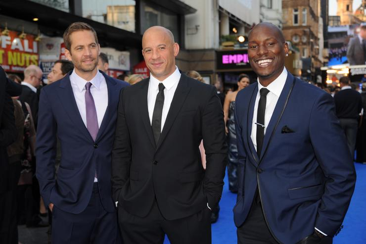 Tyrese World Premiere Of Fast & Furious 6