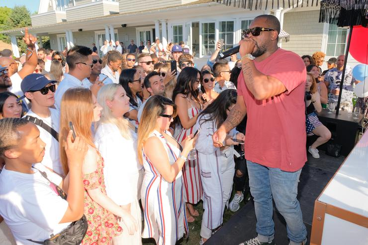 Schoolboy Q #REVOLVEintheHamptons Kicks Off 4th Of July With Moet & Chandon