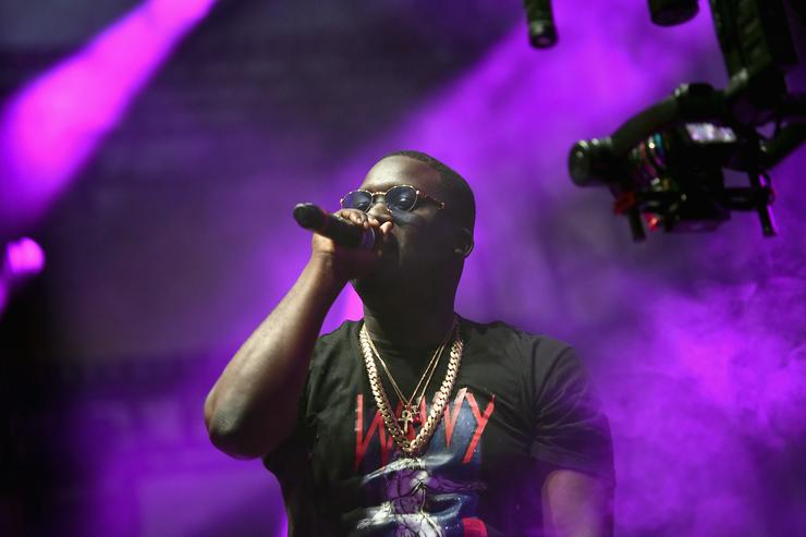 Zoey Dollaz on stage