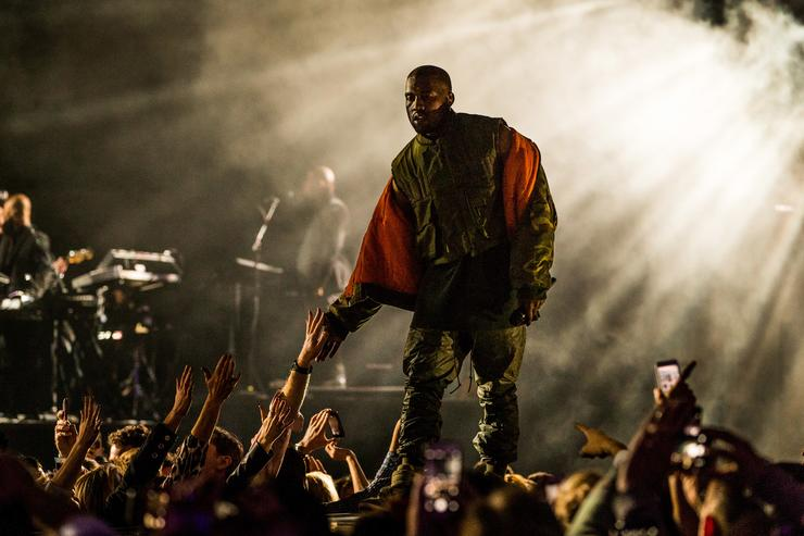 Kanye West Gives Custom Yeezy Boosts to Paralyzed Fan