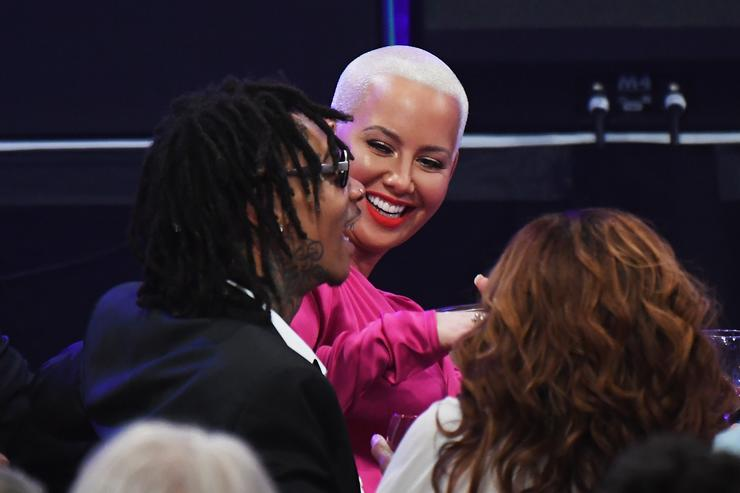 Amber Rose Wants a Restraining Order Against Wiz Khalifa's Mom