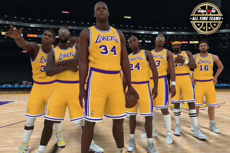 National Basketball Association 2K18 To Feature All Time Teams For Its 30 Franchises