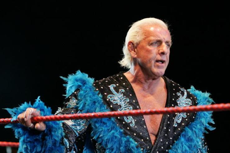 Ric Flair's Fiancee Gives Medical Update Saying He's in Critical Condition