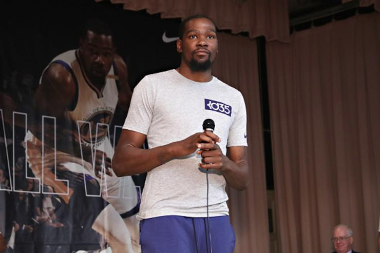 Kevin Durant Says He Doesn't Respect Donald Trump, Won't Visit White House
